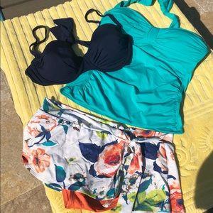 Tommy Bahama swimsuit 3 pieces, tankini/bakini